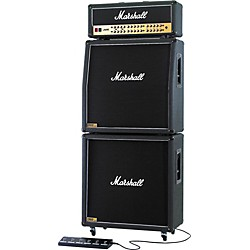 Marshall JVM410 Head with 1960A and 1960B Tube Guitar Full Stack Regular (KIT-482734)