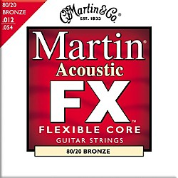 Martin FX640 Light 80/20 Bronze Acoustic Guitar Strings (41MFX640)