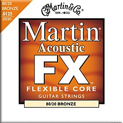 Martin FX645 80/20 Bronze Acoustic Light/Medium Strings (41MFX645)