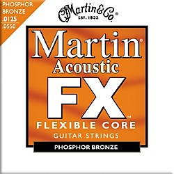 Martin FX745 Light-Medium Phosphor Bronze Acoustic Guitar Strings (41MFX745)