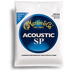 Martin MSP4850 SP Acoustic Phosphor Medium Acoustic Bass 4 String (41MSP4850)