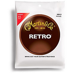 Martin Martin Retro Series Light Acoustic Guitar Strings (41MM12)