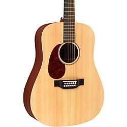 Martin X Series D12X1AE Left-Handed Acoustic-Electric Guitar (USED004000 11D12X1AEL)