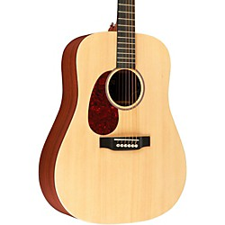 Martin X Series DX1AE Left-Handed Acoustic-Electric Guitar (USED004000 11DX1AEL)