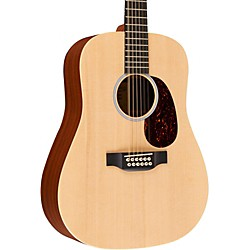 Martin X1-D12E Custom Dreadnought 12-String Acoustic-Electric Solid Spruce Top HPL Back & Sides (USED004001 CST D12X1AE)