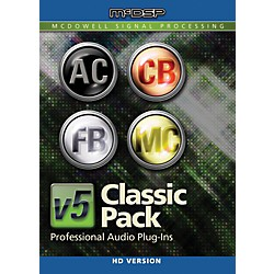 McDSP Classic Pack HD v5 Software Download (1075-32)