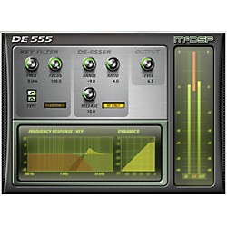 McDSP DE555 De-esser Native v5 Software Download (1075-18)