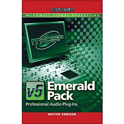 McDSP Emerald Pack Native v5 Software Download (1075-31)