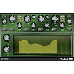 McDSP FilterBank HD v5 Software Download (1075-19)