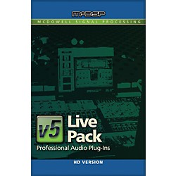 McDSP Live Pack HD v5 (1075-36)