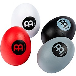 Meinl 4-Piece Egg Shaker Set with Soft to Extra Loud Volumes (ES-SET)