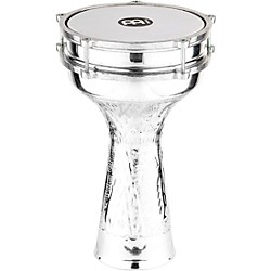 Meinl Aluminum Hand Hammered Jingle Darbuka (HE-314)