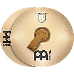 Meinl B12 Marching Medium Cymbal Pair (MA-B12-16M)