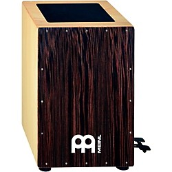 Meinl Bass Cajon with Foot Pedal and Ebony Frontplate (CAJ5EB-M)