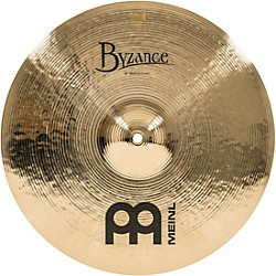 Meinl Byzance Brilliant Medium Crash Cymbal (B16MC-B)