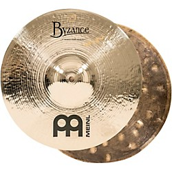 Meinl Byzance Brilliant Serpents Hi-Hat Cymbal Pair (B13SH-B)