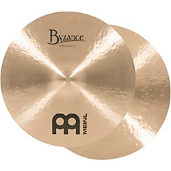 Meinl Byzance Traditional Medium Hi-Hat Cymbal Pair (B16MH)