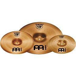 "Meinl Classics 18"" China/10"" Splash Cymbal Pack with Free 12"" China (C-10/18-12CH)"