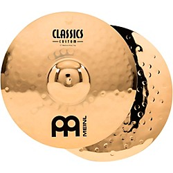 Meinl Classics Custom Medium Hi-Hats - Brilliant (CC15MH-B)