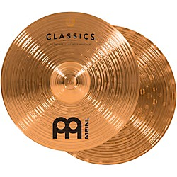 Meinl Classics Medium Soundwave Hi-Hat Cymbals (C14MSW)
