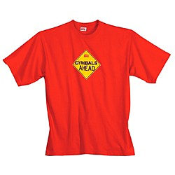 Meinl Cymbals Ahead T-Shirt, Red (M44-XL)