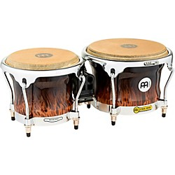 Meinl Free Ride Series High Gloss Wood Bongos (FWB400BB)