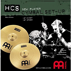 Meinl HCS New Player Cymbal Setup (HCS1416)