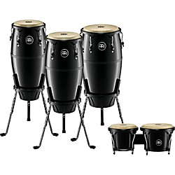 Meinl Headliner 3-Piece Conga Set With Free Bongos (HFC3)