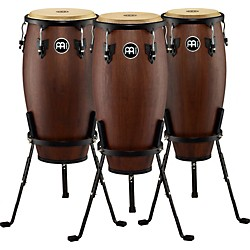 Meinl Headliner Designer 3-Piece Conga Set with Basket Stands (HD3C-Set)