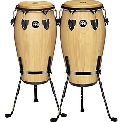 Meinl Luis Conte 2 Piece Conga Set with Free Basket Stands (KIT-445856)
