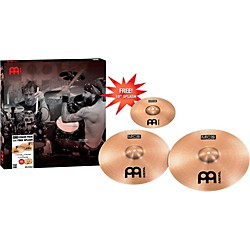 Meinl MCS Crash Pack With Free Splash (MCS1618+10S)