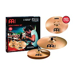 Meinl MCS Cymbal Pack with Free 14 Inch Crash (MCS1418+14C)
