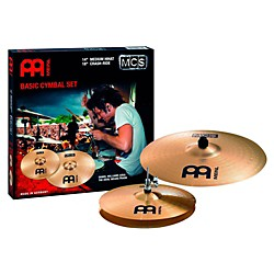 Meinl MCS Hi-hat Crash/Ride Cymbal Pack (MCS1418)