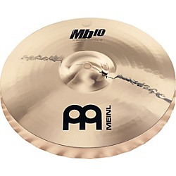 Meinl Mb10 Medium Soundwave Hi-Hat Cymbals (MB10-14MSW-B)