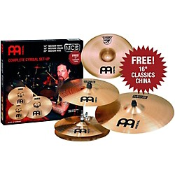 Meinl Meinl MCS 3-Cymbal Set + Free 16 Inch China (MCS+C16CH)