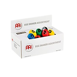 Meinl Meinl Plastic Egg Shaker Assortment Box (ES-BOX)
