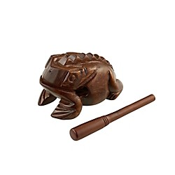 Meinl Wood Frog Hand Percussion Instrument (FROG-L)