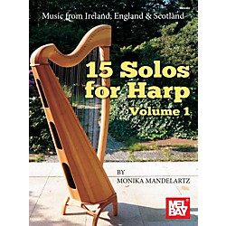 Mel Bay 15 Solos for Harp Volume 1 (9783940474827)