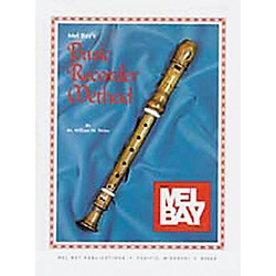 Mel Bay Basic Recorder Method Book (93786)