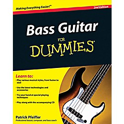 Mel Bay Bass Guitar for Dummies, 2nd Edition Book/CD Set (9780470539613)