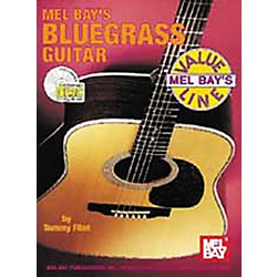 Mel Bay Bluegrass Guitar Book with CD (97229BCD)