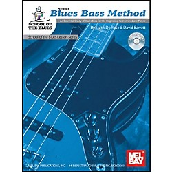 Mel Bay Blues Bass Method Level 1 Book and CD (21063BCD)
