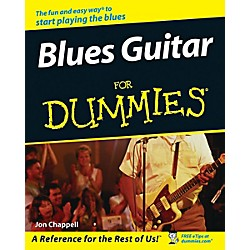Mel Bay Blues Guitar For Dummies  Book/CD Set (0470049204)