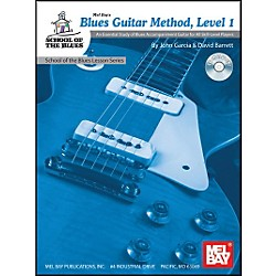 Mel Bay Blues Guitar Method, Level 1 Book and CD (21057BCD)