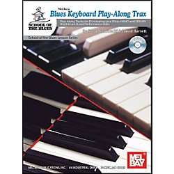Mel Bay Blues Keyboard Play-Along Trax Book and CD (21062BCD)