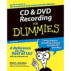 Mel Bay CD & DVD Recording for Dummies (0764559567)