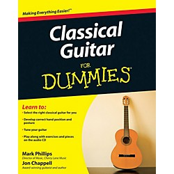 Mel Bay Classical Guitar for Dummies  Book/CD Set (9780470464700)