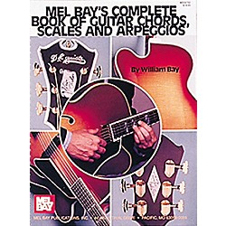 Mel Bay Complete Book of Guitar Chords, Scales and Arpeggios (94792)