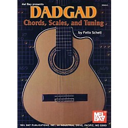 Mel Bay DADGAD Chords, Scales, and Tuning Book (98543)