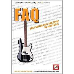 Mel Bay FAQ: Bass Guitar Care and Setup Book (21032)